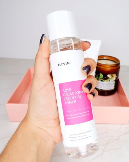 IUNIK Rose galactomyces toner Korean skincare kbeauty