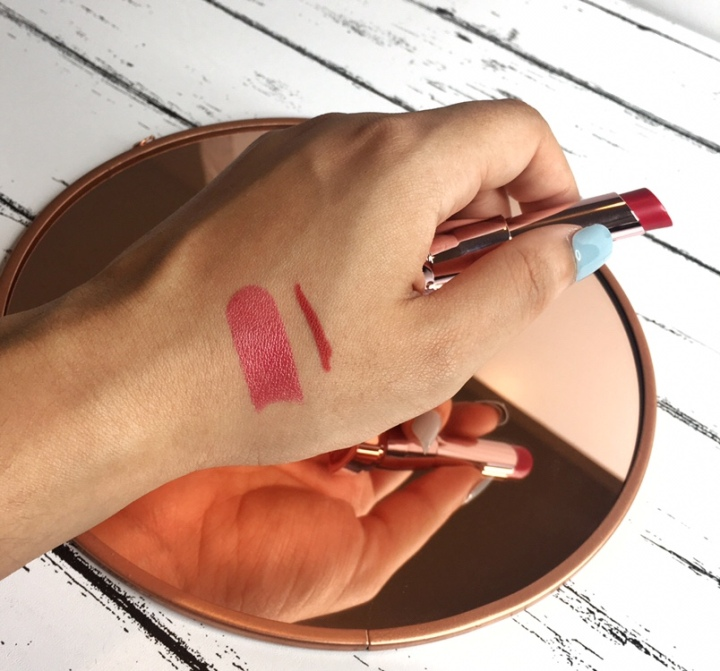 Maybelline color sensational lipstick swatch